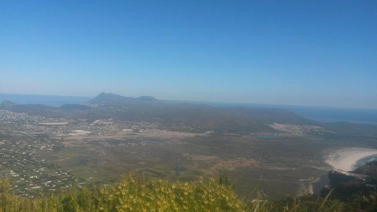 The Constantiaberg. The Cape Peninsula