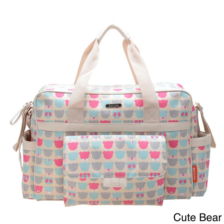 Bellotte Classic Tote Diaper Bag - Overstock™ Shopping - The Best Prices on Bellababe Tote Diaper Bags $38.49