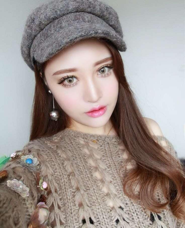Cosplay Makeup Contact Lenses Color Ocean Light Brown