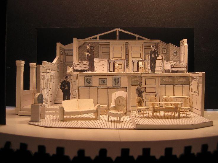 Model todd potter set design models etc pinterest for Theatre model