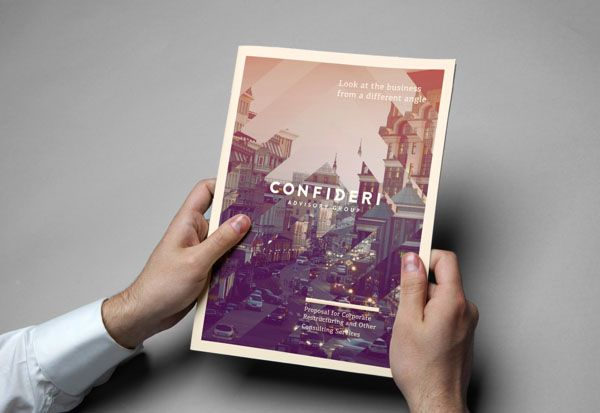CONFIDERI – Printed Collateral by ARENAS lab