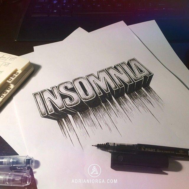 Insomnia by Adrian Iorga