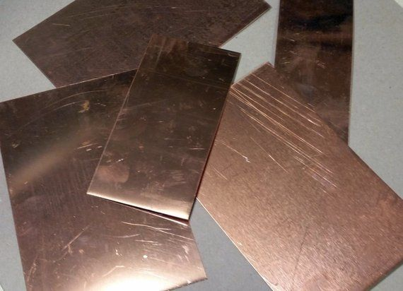Copper Scrap Flats Sold By The Pound Free Shipping Etsy Things To Sell Copper Diy Galvanized Sheet Metal