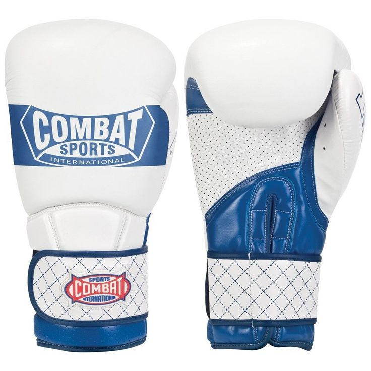 Combat Sports IMF Tech Boxing Sparring Gloves White/Blue