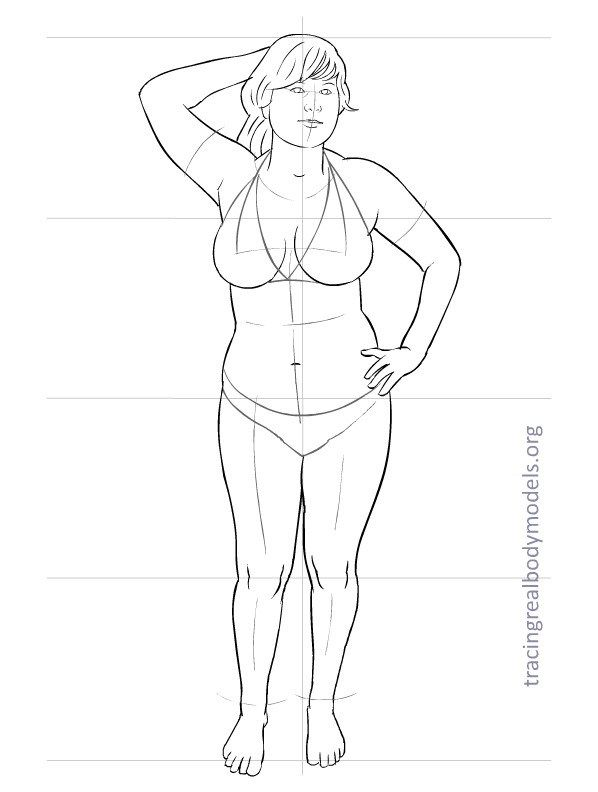 Wonderful Page Of Costume Design Templates For Women Realistic Sizes Rather Than The