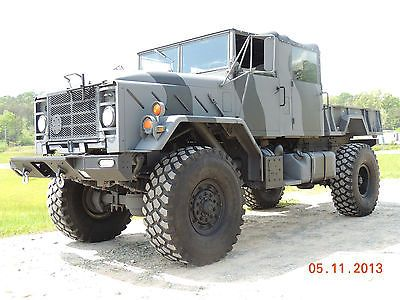 M923a2 Monster Truck, 5-ton, Bug Out, Zombie, Cummins, 4x4, Custom Truck - Used   for sale in Mount Airy, Georgia   Search-Vehicles.com