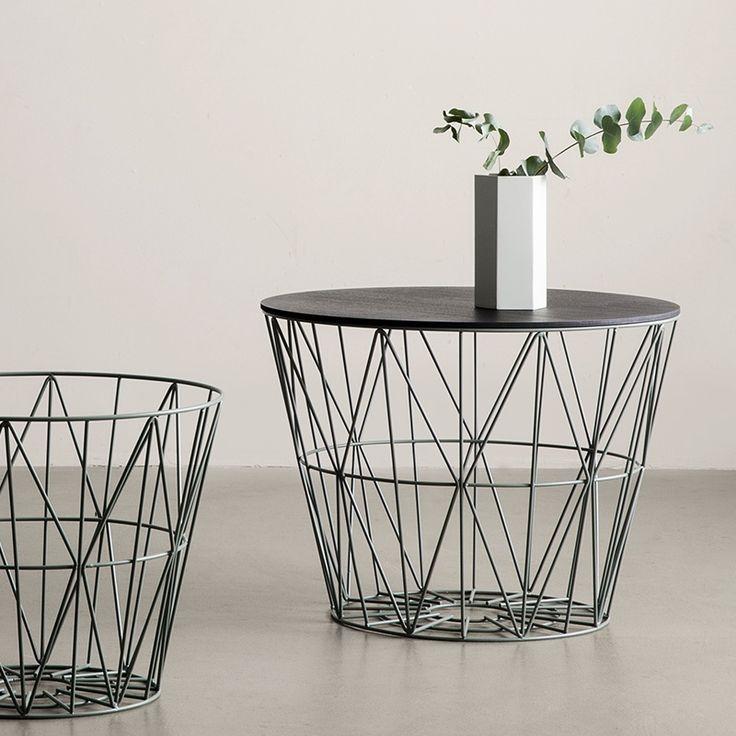 ber ideen zu drahtkorb auf pinterest k rbchen h keln h kelk rbe und trapillo. Black Bedroom Furniture Sets. Home Design Ideas