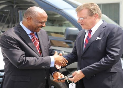 FOW 24 NEWS: US Donates Tactical Equipment And Vehicles To NDLE...