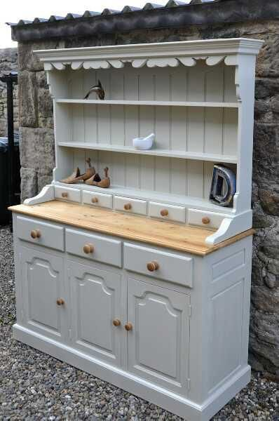 Shabby Chic Welsh Dresser By Beanocartoonist Via Flickr