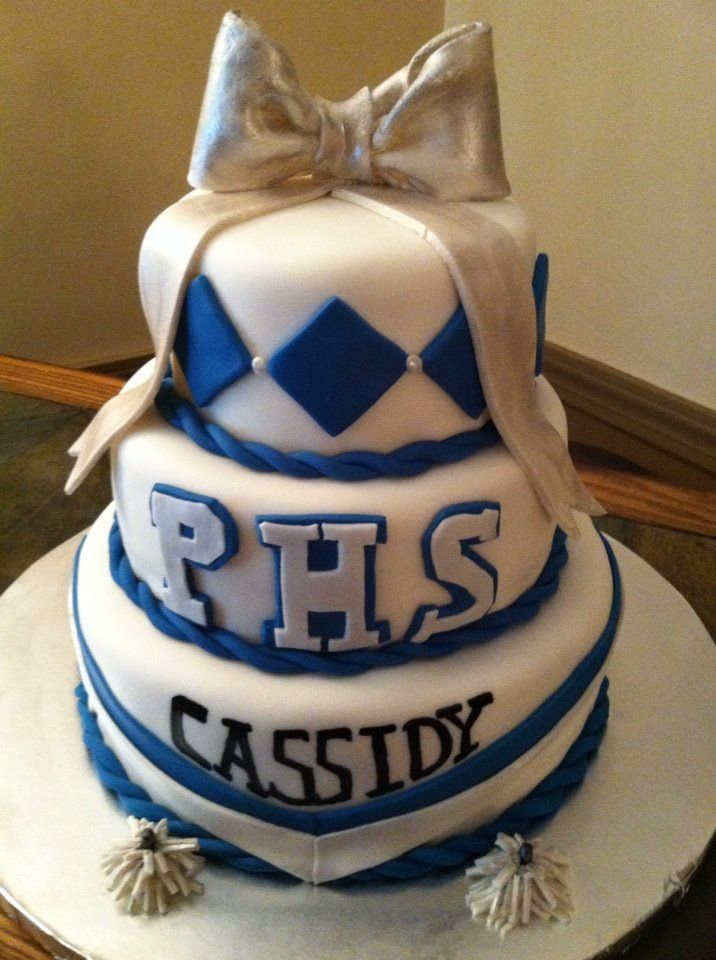 30 Best Cheerleader Birthday Party Images On Pinterest Cheer Cakes