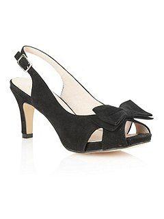Diana peep toe shoes