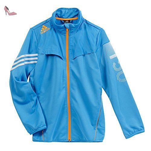 Adidas veste de survêtement en maille pour enfant f50 - Bleu - 14 ans - Chaussures adidas (*Partner-Link)
