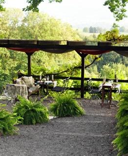 Restaurant Buech, Herrliberg (15 km outside Zurich): nice terrace, excellent food