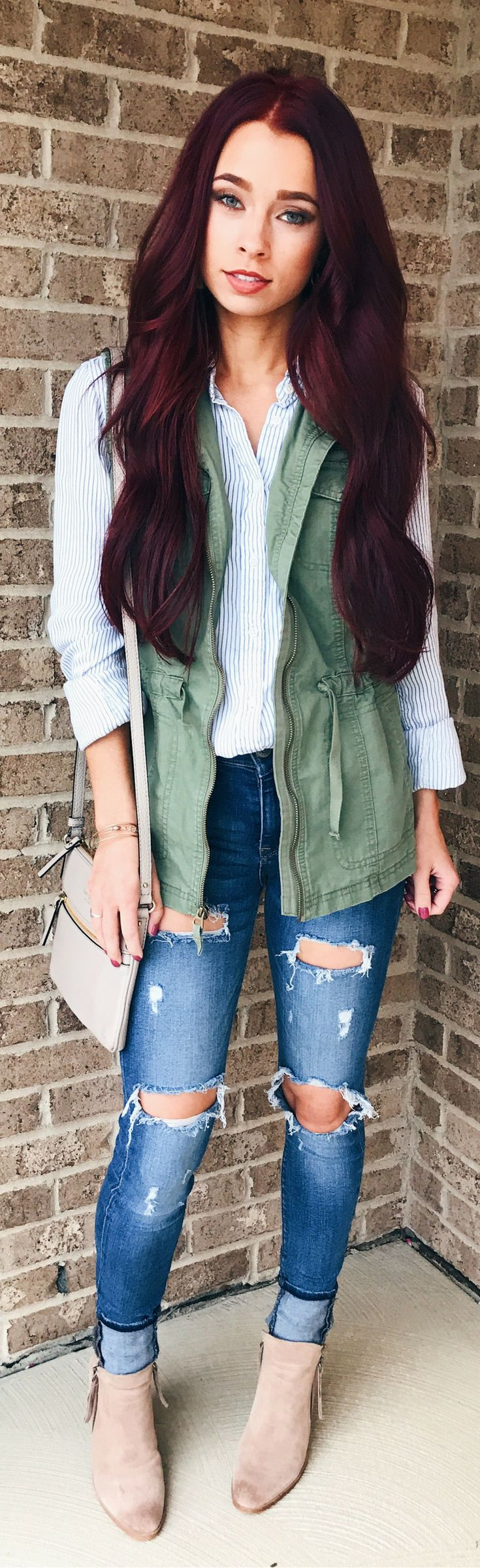 Women's Style || Fall Fashion || Target Style || Easy Fall Fashion || Liketoknow.it || Distressed Jeans || Casual Style || Women's Fashion