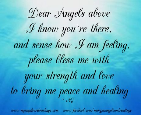 Blessing Quotes And Sayings | Angel Blessings, Poems and Sayings with Images