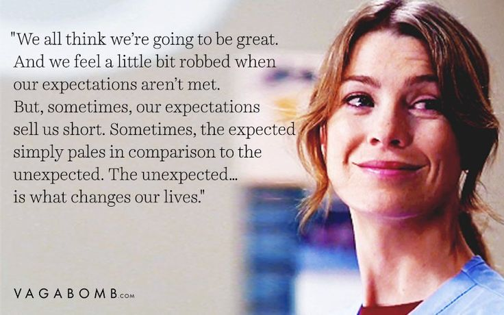 Meredith Grey is my other half!
