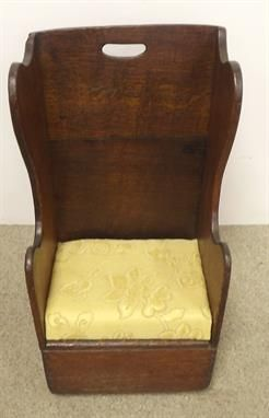 Georgian Oak Childs Rocking Chair - isn't this gorgeous? Estimate is €80-100 in our auction on Monday evening