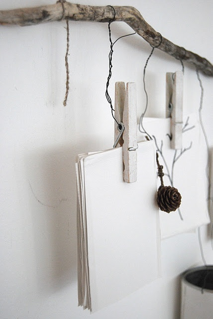 twigs for stationery