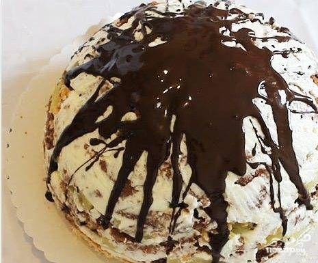 """Торт """"Панчо"""" без выпечки"""