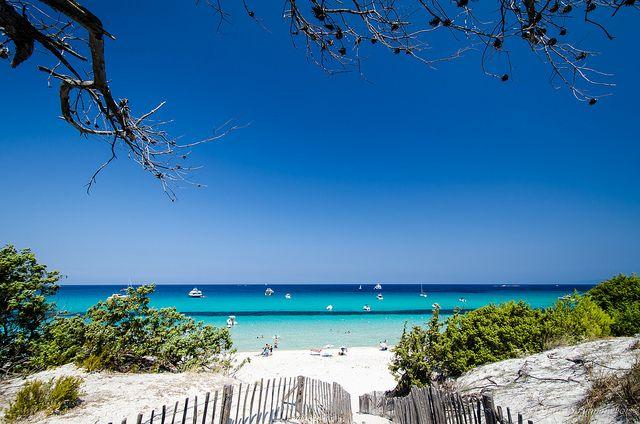 Saleccia Beach auf der Insel Korsika