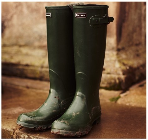 Town & Country Wellington | Barbour.... I don't have this pair but I have become a big fan of rubber shoes in all sizes from waders to overshoes....