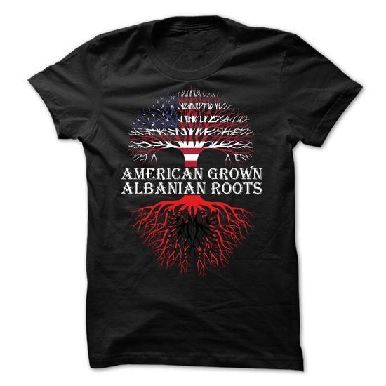 American Grown Albanian Roots T-Shirts, Hoodies, Sweatshirts, Tee Shirts (23.97$ ==> Shopping Now!)