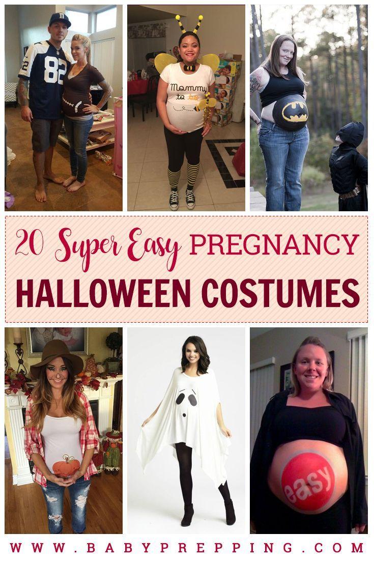 20 Super Easy Pregnancy Halloween Costumes  fd0c60a9d