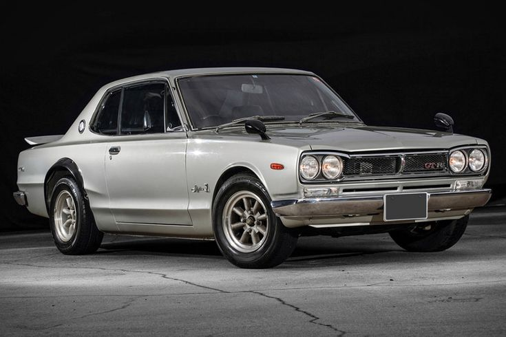 1972 Nissan Skyline GT-R is one of just over 1,100 GT-R coupes made between '70 and '72, powered by...