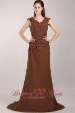 #  Brown Dress #2dayslook #BrownDress #anoukblokker #lily25789  www.2dayslook.com
