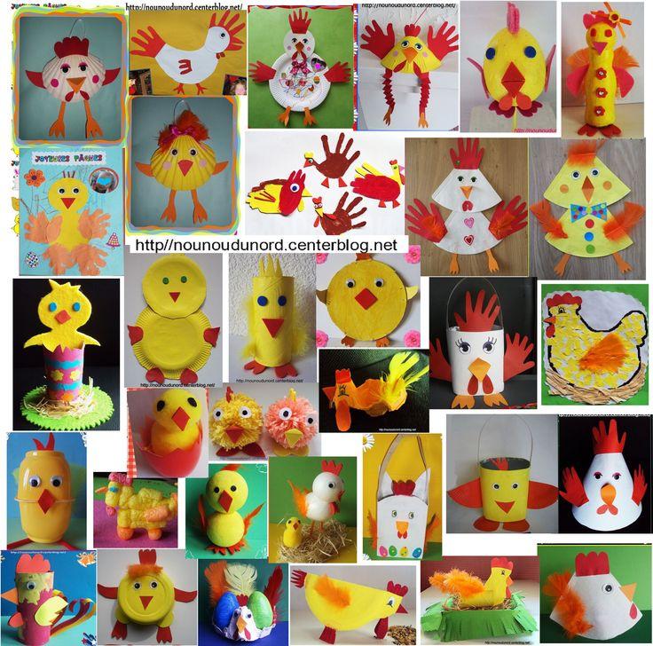 découvrir toutes les créations de Pâques sur mon blog http://nounoudunord.centerblog.net/rub-activite-paques-.html,