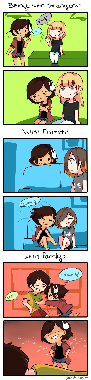 Anti-Social Media :: 19: Comfort Levels | Tapastic Comics - image 1