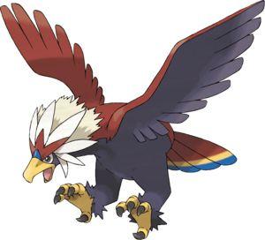 Braviary Pokédex: stats, moves, evolution & locations   Pokémon Database