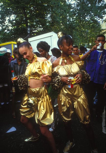 Notting Hill Carnival | Ph: Giles Moberly | colville gdns 1993