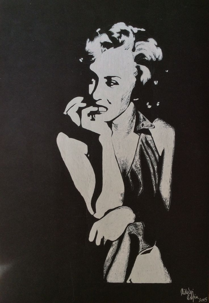 Marilyn Monroe - White gel pen drawing on black paper #marilynmonroe #marilyn #monroe #hollywood #marilynmonroeportrait #drawing #portrait #blackandwhite #blackpaperdrawing #whitegelpen #minimal #minimalism #lowkey