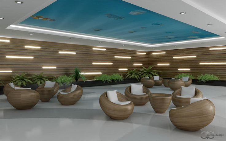 Here's my proposition of a waiting room in a large public building. www.anima-design.pl  #waitingroom #publicbuilding #interiordesign