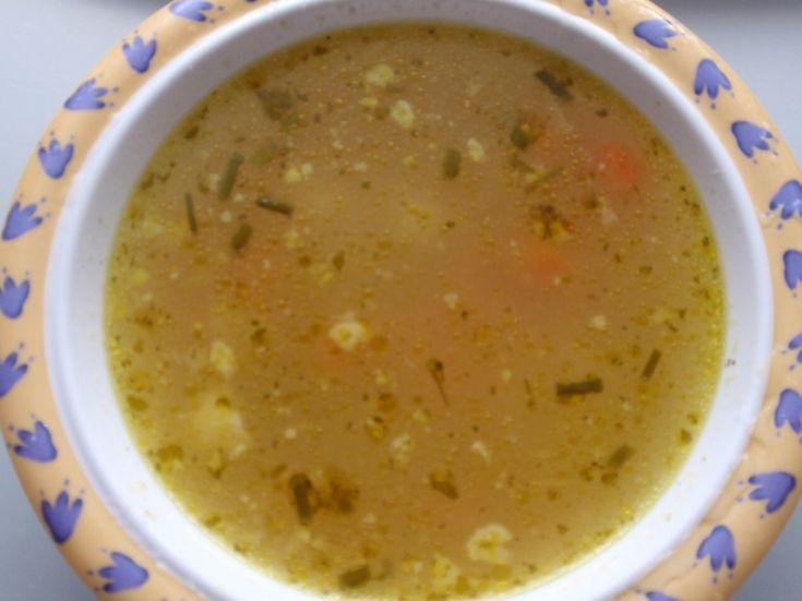 Bohatá zeleninová polievka pre deti