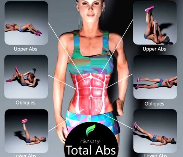 Total abs workouts ! Challenge your friends by tagging them  Via @fitonomy  #female6packguide
