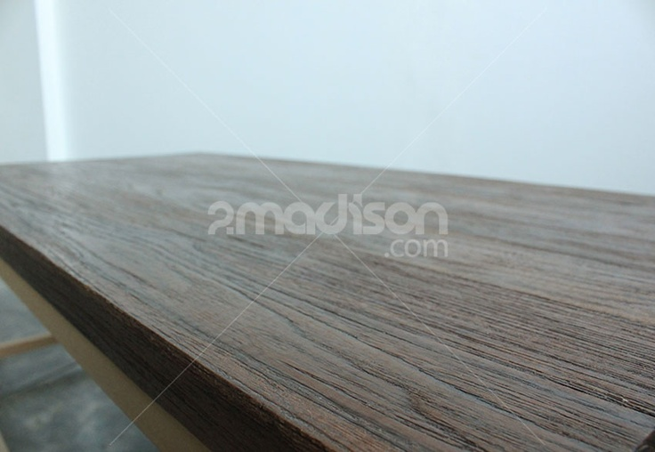 Minimalist Coffe Table  www.2madison.com  Coffe table dari kayu jati dengan kaki yang terbuat dari besi ini akan menambahkan kesan rustic contemporary secara natural pada ruangan Anda. Tempatkan bersama kursi bergaya senada, dan dapatkan gaya contemporary rustic secara utuh pada ruangan Anda.  Designer : Madison  Collection : The Soho Series