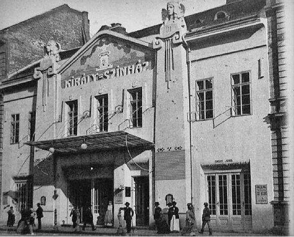 A Király Színház épülete, amely számos magyar operett megszületésének volt tanúja - Forrás: szecessziosmagazin.com