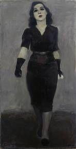 Max Lingner (1888–1959): Mademoiselle Yvonne, 1939. Öl auf Leinwand, 99 x 51 cm. Staatliche Museen zu Berlin, Nationalgalerie / bpk / Jörg P. Anders. © VG Bild-Kunst, Bonn 2015