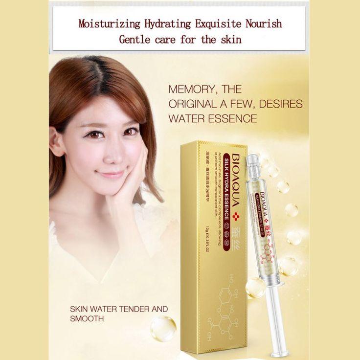 Collagen Essence Cream Moisturizing Anti Wrinkle Anti Aging maquiagem Silk Protein Hyaluronic Acid Liquid Beauty Skin Care 10ml