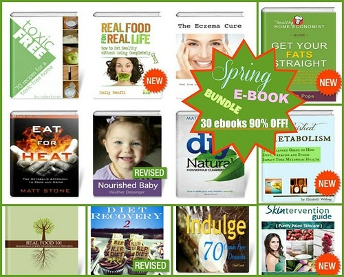 30 Real Food e-books for only $30! April 17-23rd only!