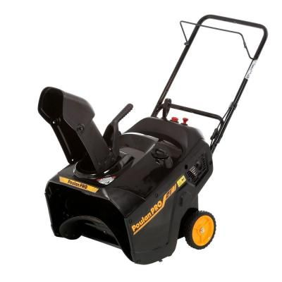 Poulan PRO PR100 21 in. Single-Stage Gas Snow Blower-961820115 - The Home Depot