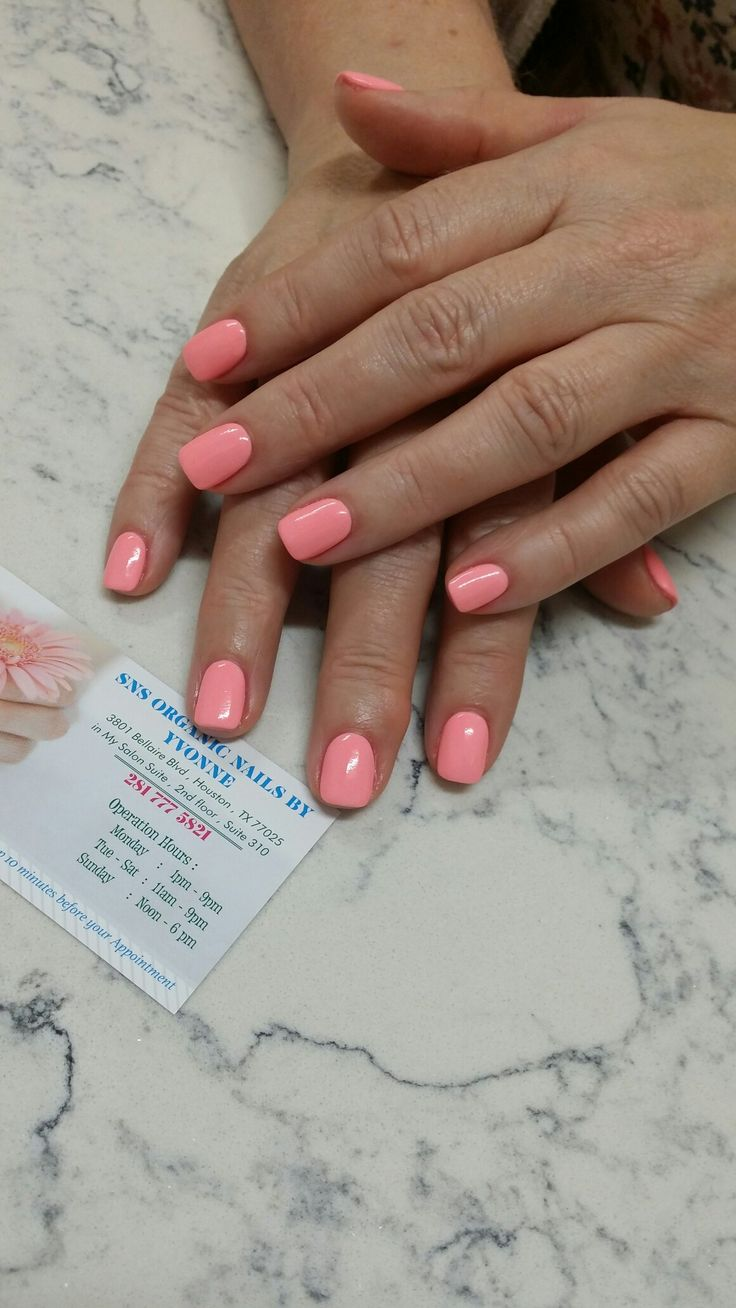 Sns Organic Nails by Yvonne #283 Contact Yvonne 832 720 0077