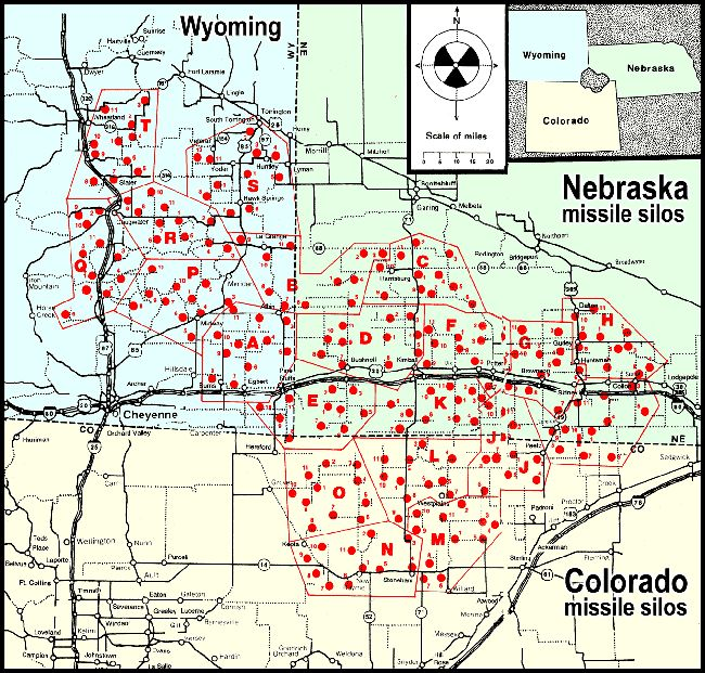 Missile Silo Map Cold War Pinterest Topeka Kansas And Kansas - Us missile silos google maps
