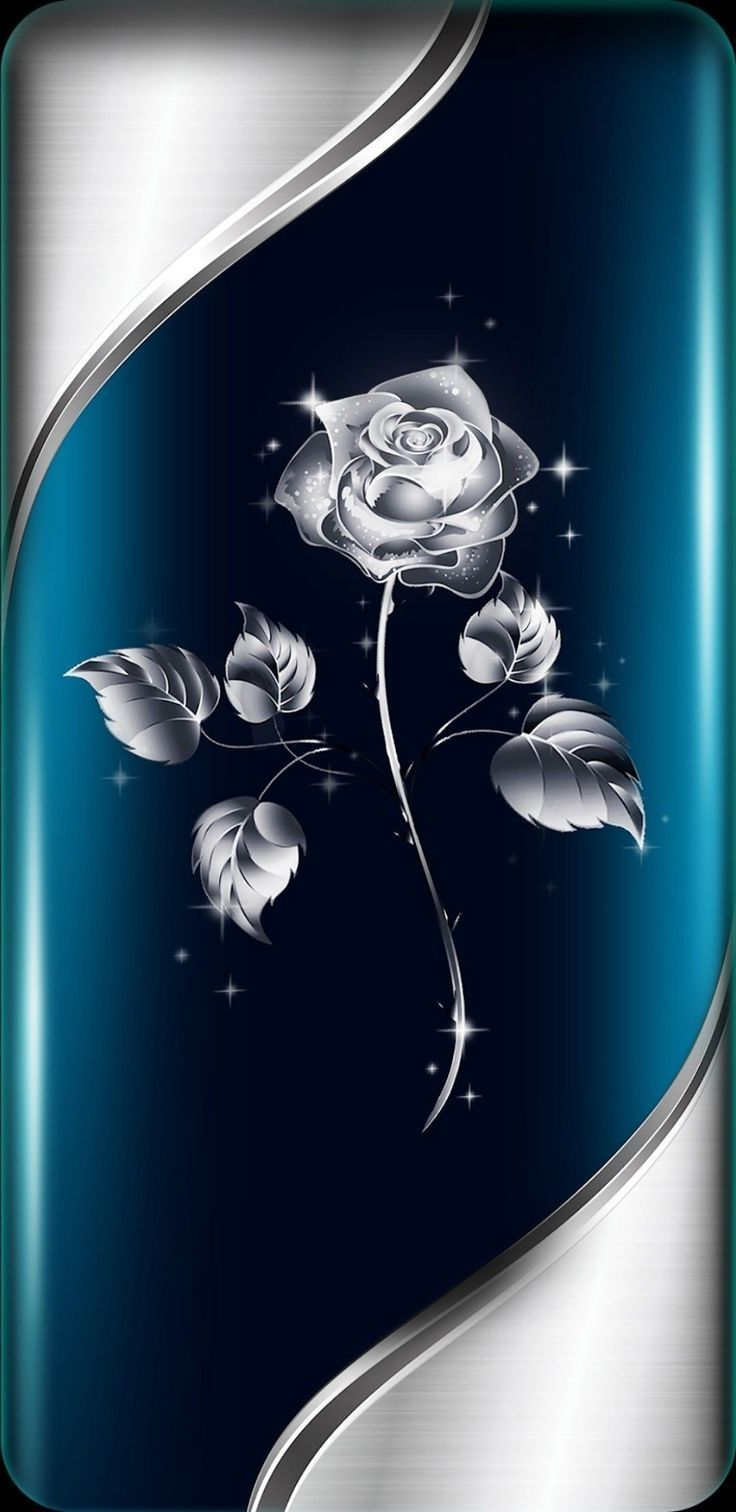 Hintergrund Von Unbekanntem Kunstler Hintergrund Kunstler Planodefundo Unbeka Silver Rose Wallpaper Rose Wallpaper Flower Phone Wallpaper