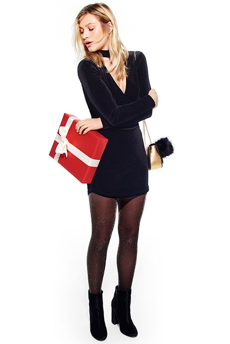 Penneys: dress €12! Tights? Boots?