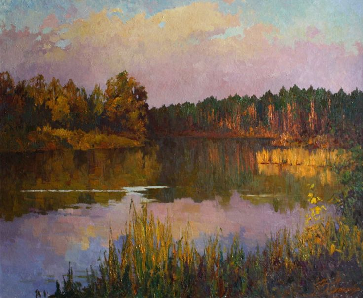 "Dovbenko Victor,  ""October evening"""
