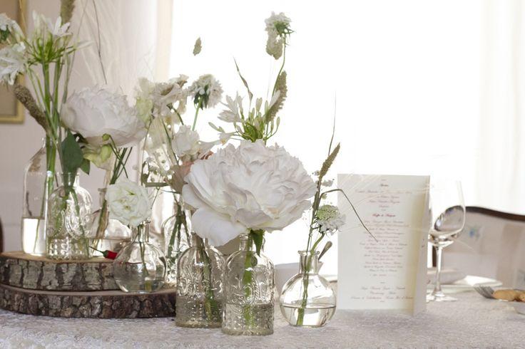 #white #elegant #wood