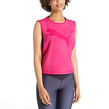 Active Training Women's Dancer Draped Tank Top: We know that nothing can compare with your favourite bra, so we designed this tank to be its perfect match. Go ahead and layer it up! Highly functional materials draw sweat away from your skin and help keep you dry and comfortable during exercise.   Get ready for dry with dryCELL.   Engineered burnout pattern and back keyhole for style and breathability.   Loose fit and dropped armhole for optimized freedom of movement and layering…